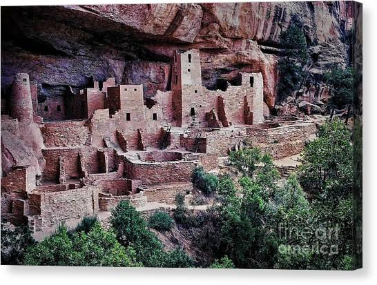 Verde Canvas Print - Mesa Verde by Heather Applegate