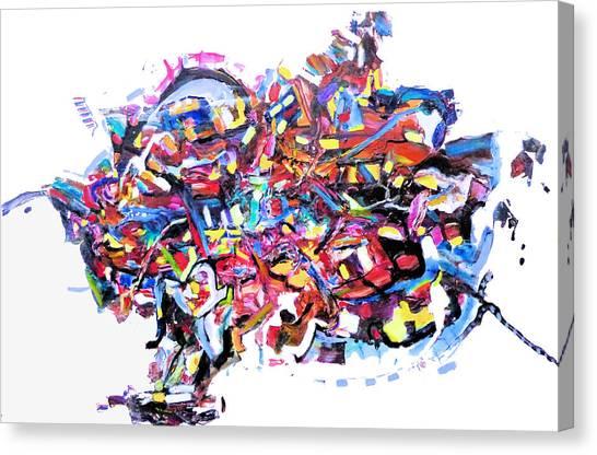 Mescalito Speedboat Canvas Print