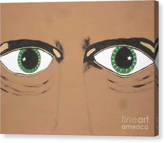 Canvas Print - Mesmerized Eyes by Jeffrey Koss