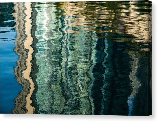 Mesmerizing Abstract Reflections Two Canvas Print