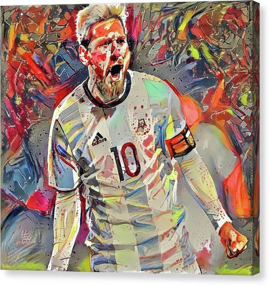 Messi Canvas Print - Messi by ArtMarketJapan