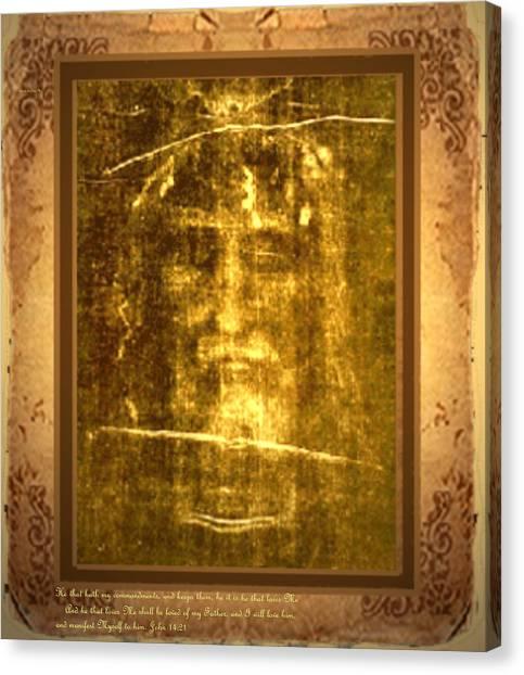 Messiah Manifested Canvas Print