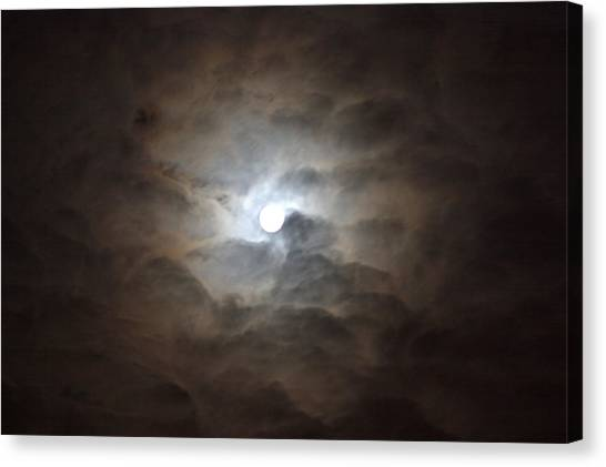 Messianic Moon Canvas Print