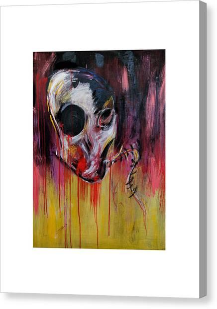 Meta Canvas Print by Vanessa Crow