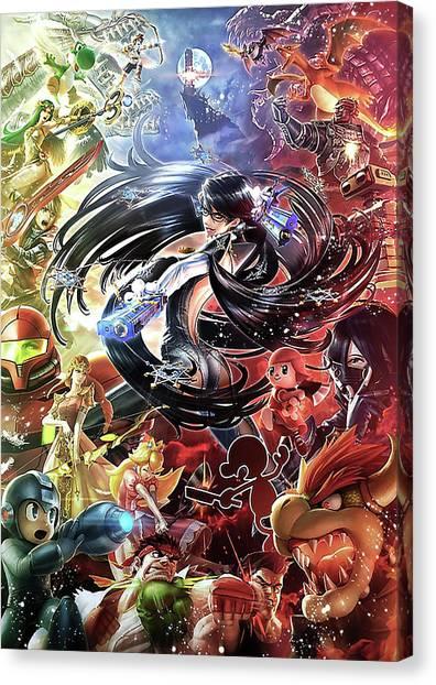 Mega Man Canvas Print - Metakhight by Zepthia Ravikasari