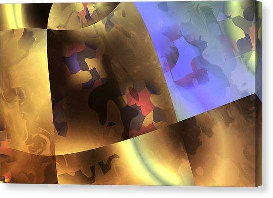 Contemporary Art Canvas Print - Metal by Contemporary Art