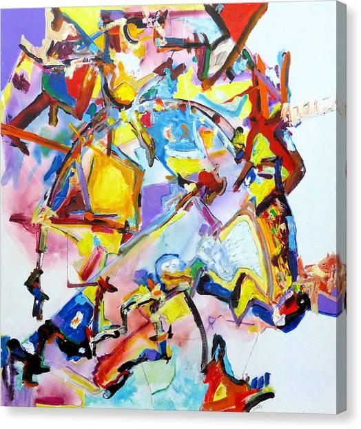 Metamorphosis On A Swing  Canvas Print