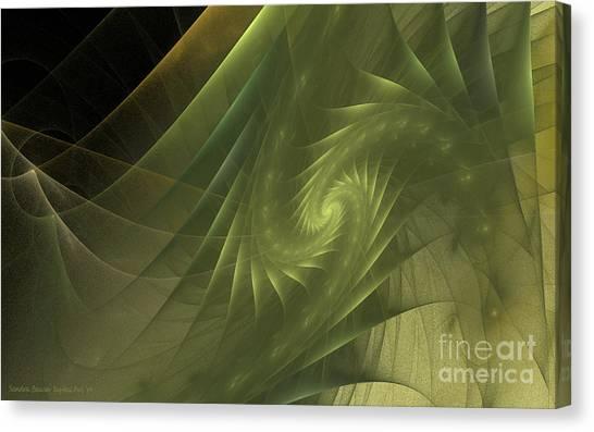 Metamorphosis Canvas Print by Sandra Bauser Digital Art