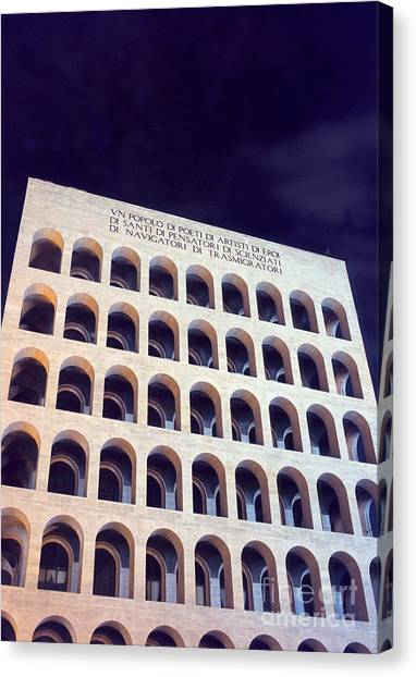 Metaphysical Arches I Canvas Print