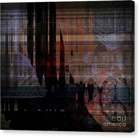 Metaphysical Formations Canvas Print by Fania Simon