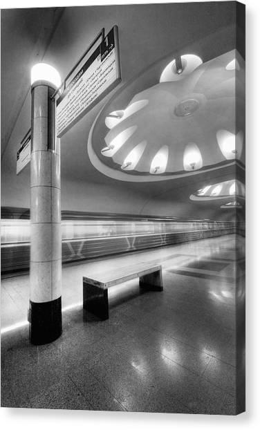 Metro #1591 Canvas Print