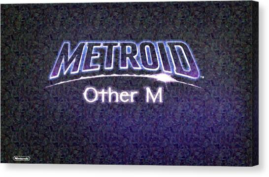 Metroid Canvas Print - Metroid Other M by Lora Battle