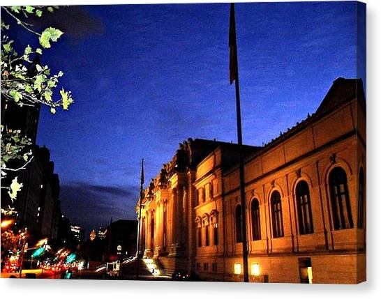 Metropolitan Museum Of Art Nyc Canvas Print