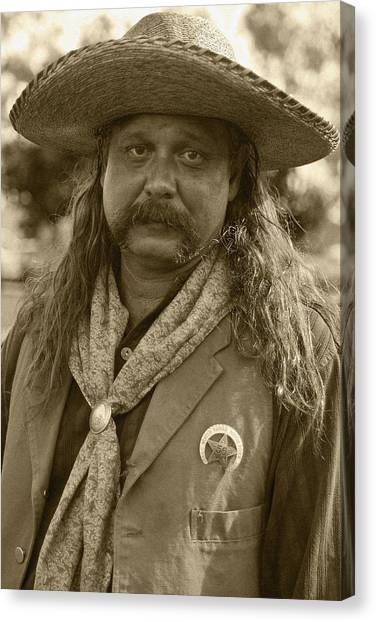 Mexican Cowboy Canvas Print