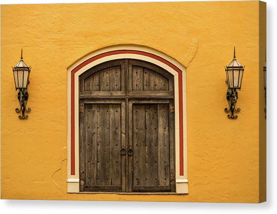 Mexican Door Canvas Print