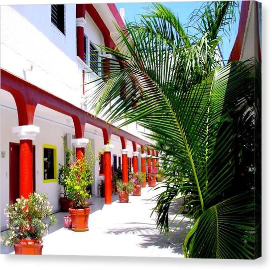 Mexican Hacienda Canvas Print
