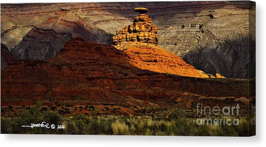 Mexican Hat 1 Canvas Print