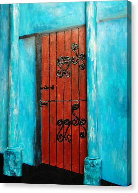 Mexican Turquoise Canvas Print