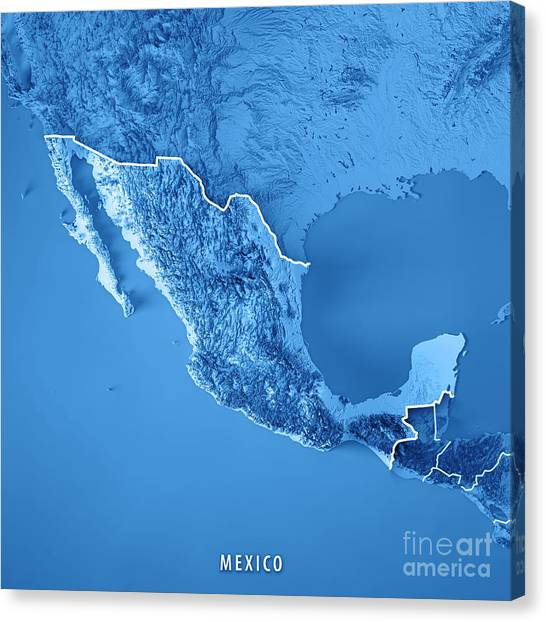 Pacific Ocean Topographic Map.Pacific Ocean Map Canvas Prints Page 18 Of 19 Fine Art America