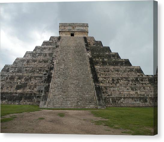Mexico Chichen Itza Canvas Print