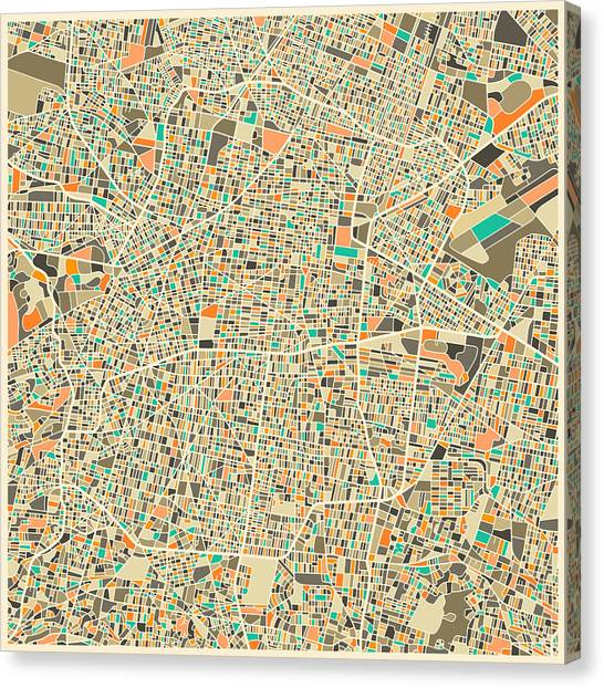 Mexican Canvas Print - Mexico City by Jazzberry Blue