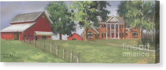 Meyer Country Estate Canvas Print by Terri  Meyer