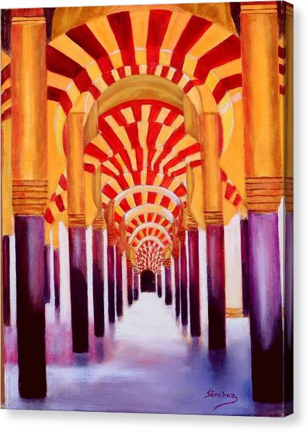 Mezquita De Cordoba Canvas Print
