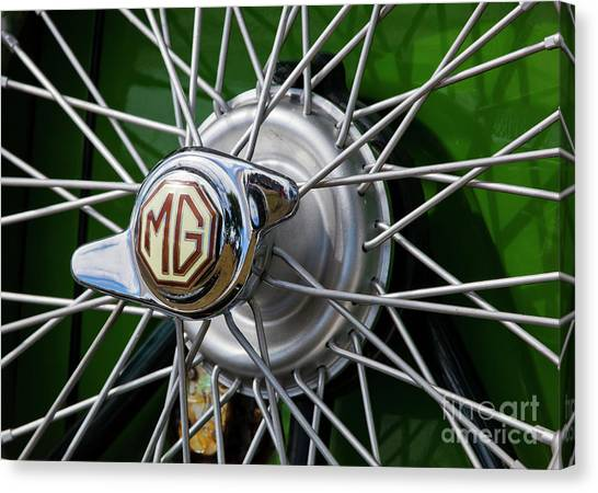 Mg Hub Canvas Print