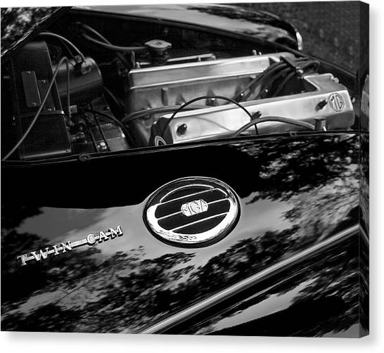 Mga Twin Cam Canvas Print
