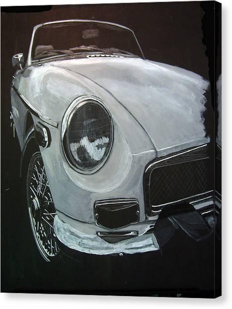 MGB Canvas Print