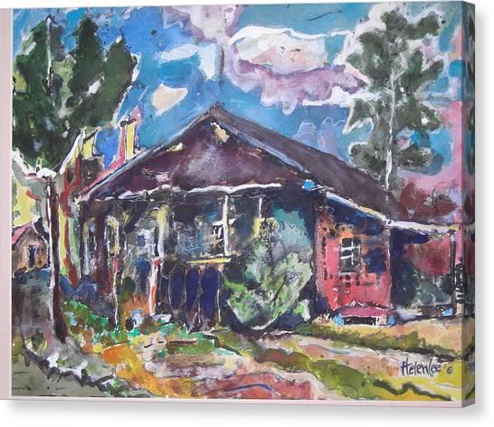 Mi Casa Canvas Print