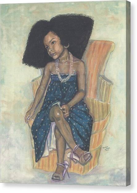 Mi Sheri Amour Canvas Print