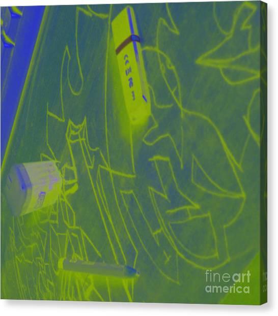 Wu Tang Canvas Print - Mi75002 by Alex Alexander Lepe'hin