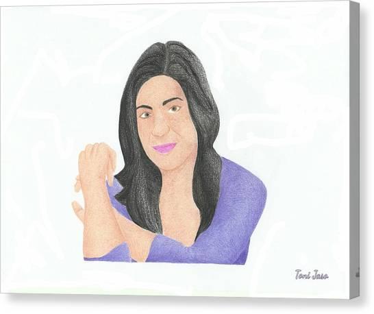 Mia Rose Canvas Print