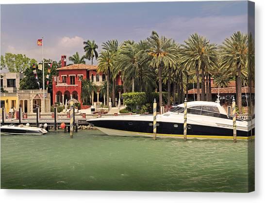Miami Style Canvas Print
