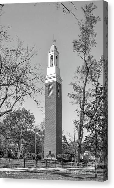 University Of Miami Canvas Print - Miami University Beta Bell Tower by University Icons
