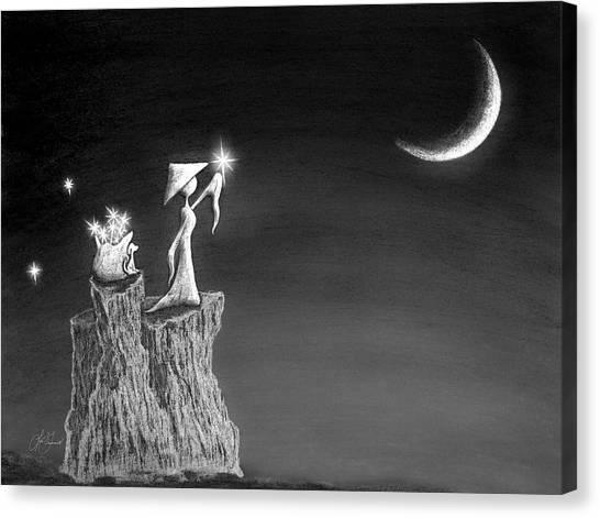 Micah Monk 11 - Light Up The Sky Canvas Print