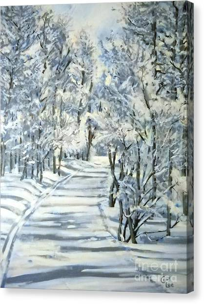 Micas Mile- Sundance Nordic Center Canvas Print