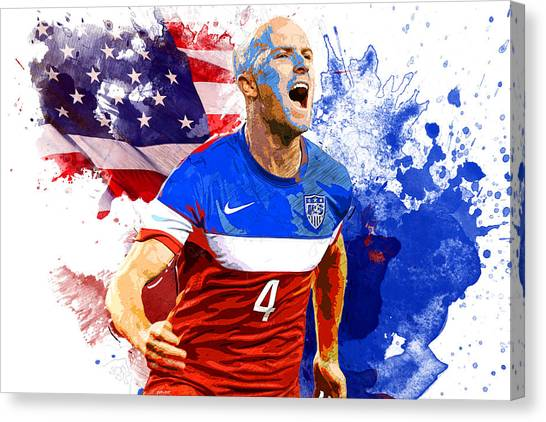 Mls Canvas Print - Michael Bradley by Semih Yurdabak