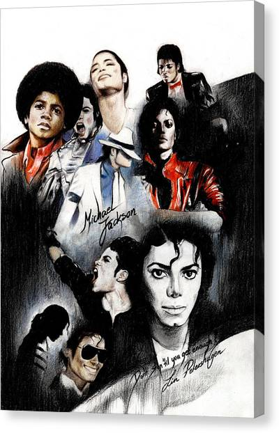 Michael Jackson - King Of Pop Canvas Print