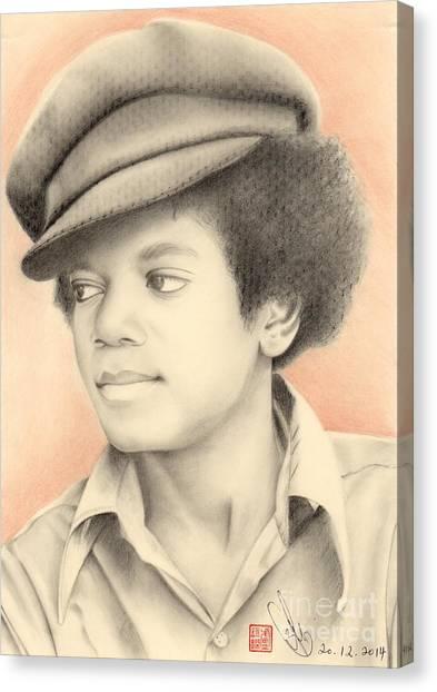 Michael Jackson #eleven Canvas Print