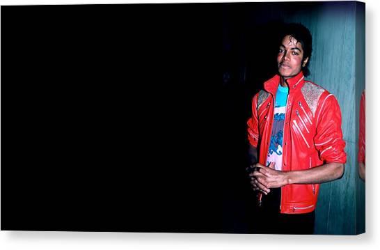Michael Jackson Canvas Print - Michael Jackson by Maye Loeser