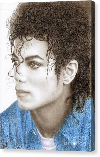 Michael Jackson #ten Canvas Print