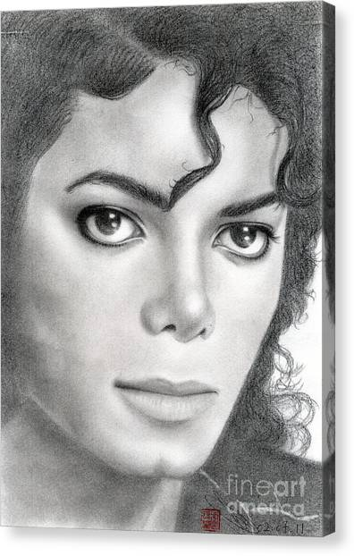 Michael Jackson #twenty Canvas Print
