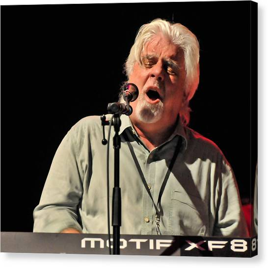 Michael Mcdonald At Tampa Bay Canvas Print