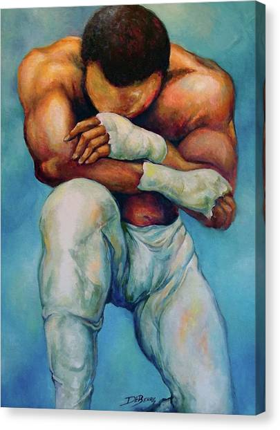 Michael The Print Canvas Print by Lloyd DeBerry