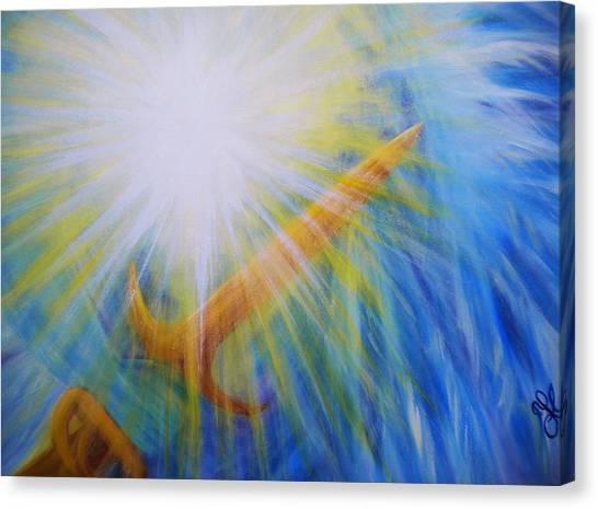Michael - The Vision - Detail Canvas Print