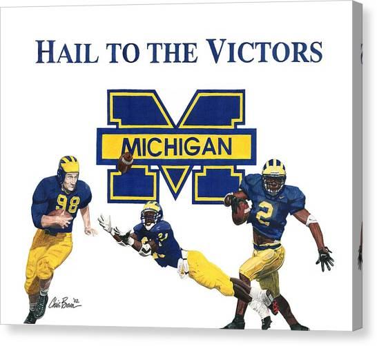 Michigan Heismans Canvas Print