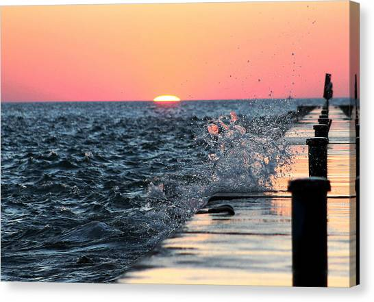 Michigan Summer Sunset Canvas Print
