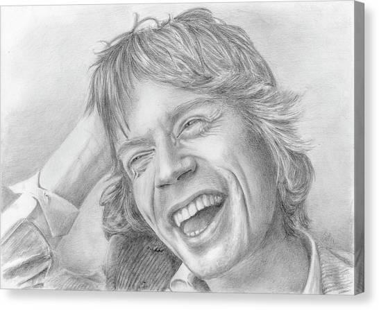 Canvas Print - Mick Jagger by Bitten Kari